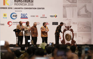 INDONESIA INFRASTRUCTURE WEEK 2017 @ JAKARTA CONVENTION CENTER