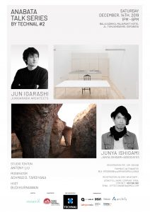 "Anabata Talk Series #2 by Technal: ""Density and Spaces"" @ Balai Adhika, Majapahit Hotel"